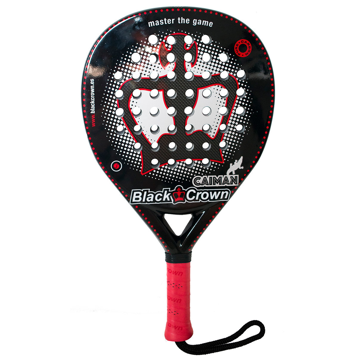 Padel Bat - Black Crown Caiman