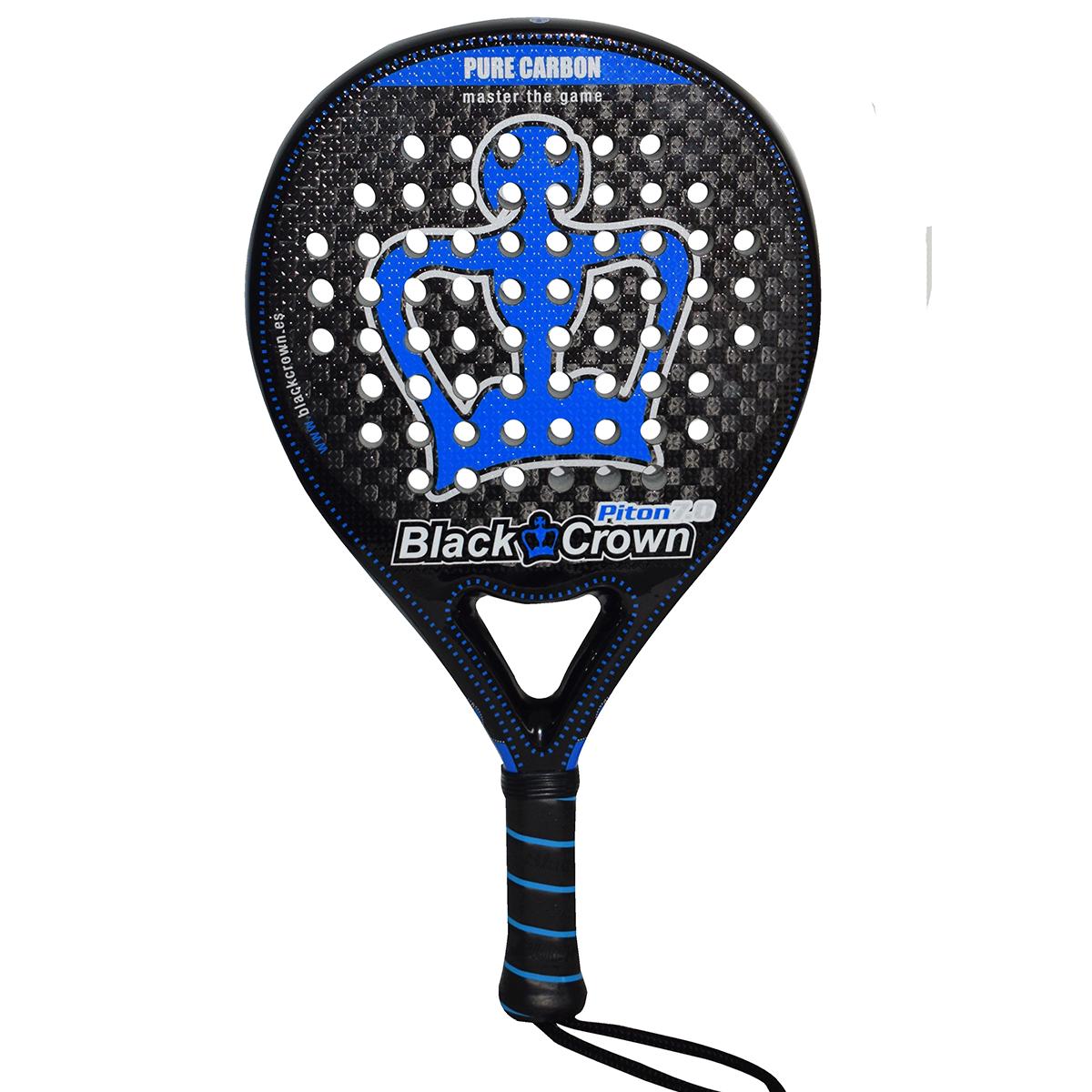 Padel Bat - Black Crown Piton 7.0