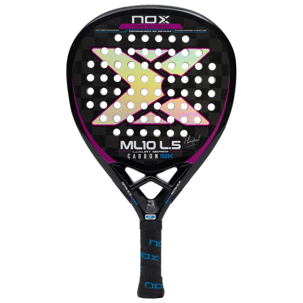Padel Bat - Nox Ml10 Luxury Carbon 18k